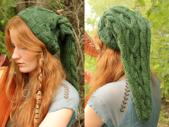 Legend Of Zelda Knitting Pattern : Heroic green cable knit legend of zelda link by jollyrainbows