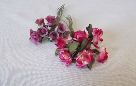 Vintage Silk Mini Flowers