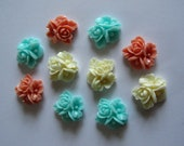 Country cottage flower Cabochons perfect for you crafts box