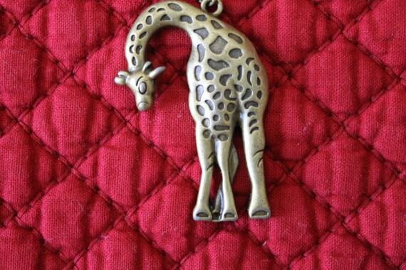 Adorable Shy Giraffe, African animal, zoo animal, Birthday gift, Christmas gift, Animal lover's gift, Mother's Day gift, Graduation gift,