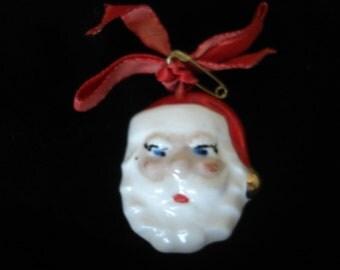 Vintage Santa Brooch