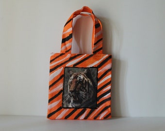 Mini Tiger Tote Bag