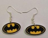 Batman Earrings- Batman - Robin - Joker- Batman logo earrings