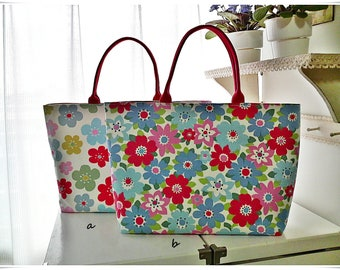 Special price Large tote bag Cath Kidston cotton canvas