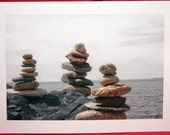 Balancing Rock Art Notecard 2