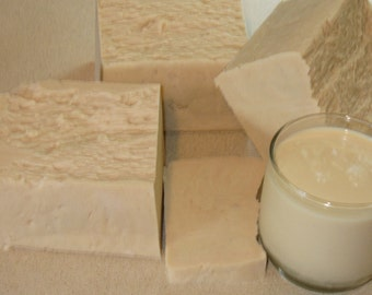 1 Lb block SHEA and Goat Milk Soap Base MASTER CRAFTED