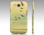 Across the Endless Sea - Samsung, iPhone, iPod, iPad cases  - Photography pelicans birds nature sea beach ocean RDelean