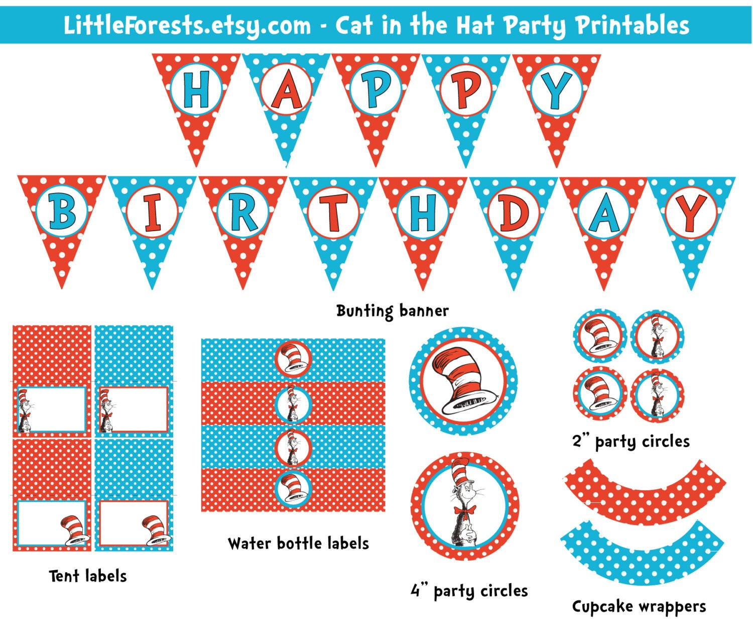 Sassy image throughout cat in the hat printable