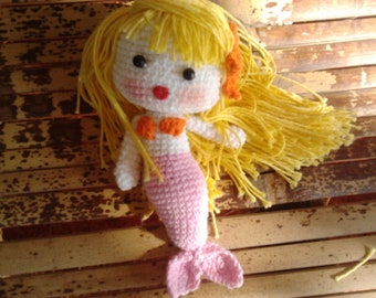 Sonya The Mermaid PDF crochet pattern