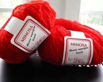 Mimosa Le Fibre Nobili Color 1120 Red