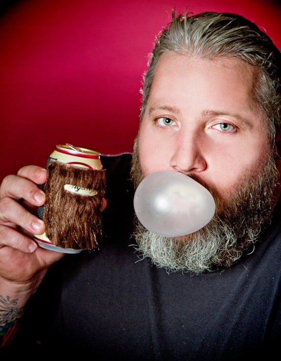 Can Beard Cozy - The Weird Beerds 5 pack