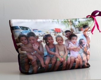 Gift for Grandmother,  Toiletries bag, personalize, Cosmetic bag