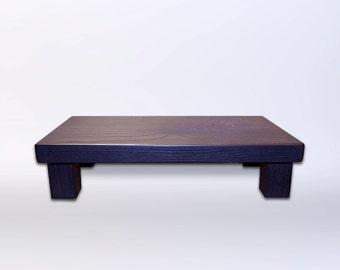 Beautiful Handmade Wooden Art Display Stand/Riser