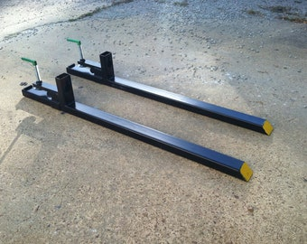 LW Clamp on Pallet Forks for a Tractor or Skid Steer I also sell these at www.PalletForks.com (COF-LW)