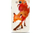 "Artist Designed - Samsung Galaxy s3 hardcase / cover / shell case - ""Vulpes"" Fox, abstract,"