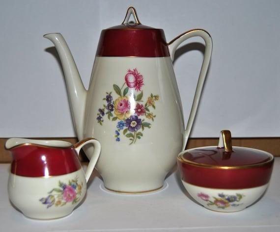 eschenbach tea set from bavaria germany. Black Bedroom Furniture Sets. Home Design Ideas