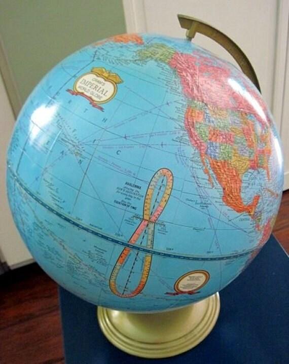 "Cram's Imperial World Globe - 17"""