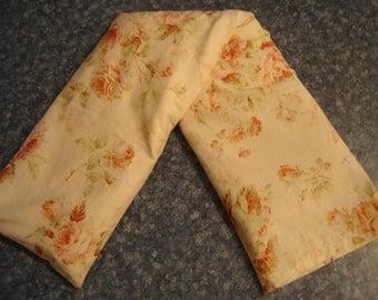 Rose Print Neck Warmer Corn Cozie