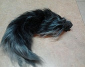 Realistic Yarn Wolf Tail Made to Order