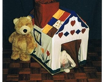 Grandma's Little House (Stuffed animal residence, toybox) Pattern