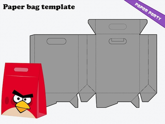 paper bag template in  png  ai  eps   cmx format by whiteddy