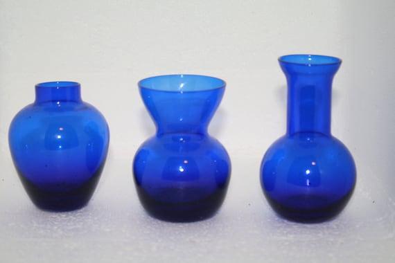 Cobalt Blue Vases