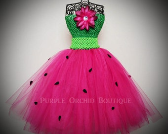 Fresh Picked Watermelon Tutu Dress - CHILD SIZE