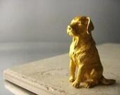 Trifari Vintage Dog Brooch Labrador Retriever Pin