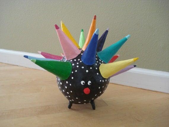 Paper Mache Porcupine