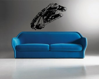 Starwars MILLENIUM FALCON - Wall Art Stickers