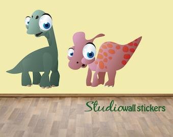 Dinosaur Wall Decals REUSABLE