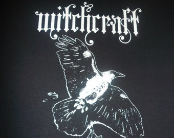 Witchcraft T shirt  Occult  doom Tee HEAVY METAL satanic WITCH Electric Wizard Sunn Stoner rock