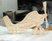 Airplane Wood Stand Up Puzzle