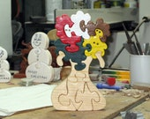 Flowers In Vase Wood Puzzle