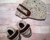 Baby Boy Crochet Hat and Loafer Shoe Set-Any size and color