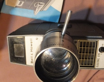 Bell & Howell 8mm Movie Camera Electric Eye Zoom - FREE SHIPPING