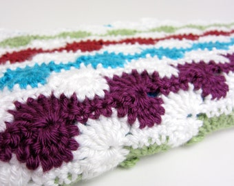 swirls baby blanket - crochet baby blanket - handmade by RockinLola