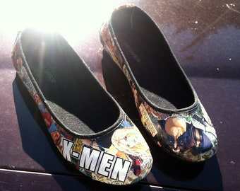 Custom Comicbook Flats