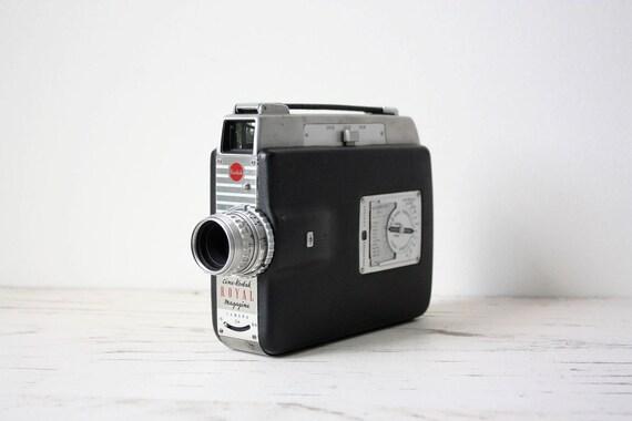 Vintage Kodak Movie Camera - 1950s Cine-Kodak Royal Magazine Camera