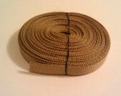 1/4 inch Grosgrain Tan Ribbon 5 yards