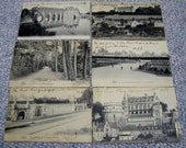 Vintage French Postcards French Chateau 1907 - RSWVintage