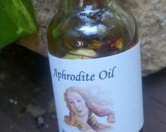 Aphrodite Oil, Voodoo, Hoodoo, Conjure,Candle , anointing, Bath, Cupid, Pagan, Wiccan
