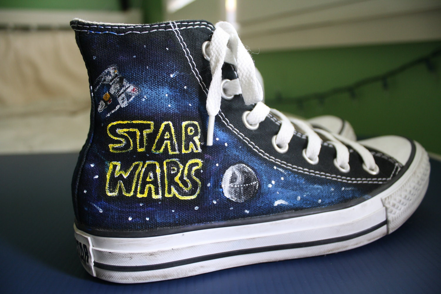 Star Wars Converse by ThoseInFavor on Etsy - photo#32