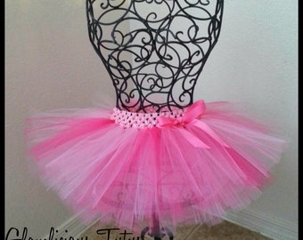 Newborn-12 month tutu | double layer |Grow with me Tutu | Baby tutu| YOU choose colors