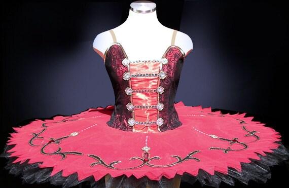 Ballet tutu classic red spanish style professional ballet - Les classiques du design ...