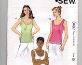 Kwik Sew Pattern 3407 MIsses' Tops
