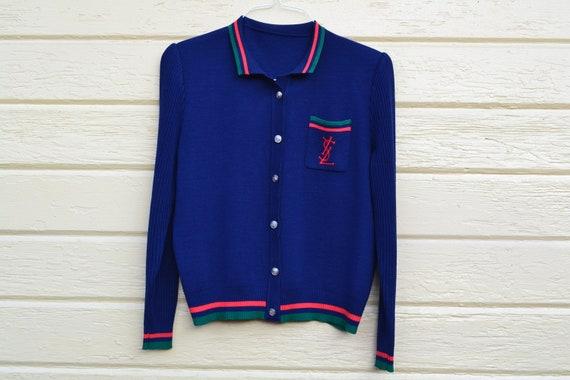 Vintage Sweater / Jacket / Retro / YSL / Size M/L