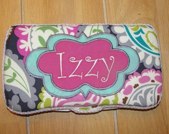 Quick shipping Personalized Baby Wipe Case