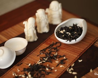 Oolong Loose Tea - Ginger Gold Phoenix Loose Whole Leaf Tea Premium Level NET 1.1 Oz. /30 grams