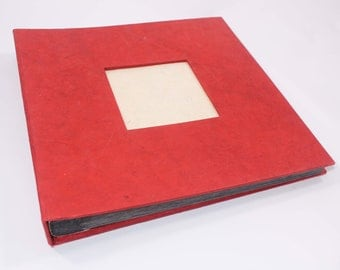 Square Photo Album Eco-friendly Lokta paper
